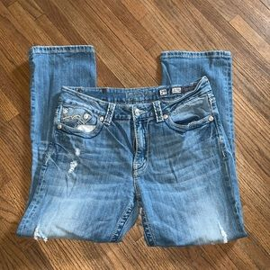 Miss Me Boyfriend Cut Jeans